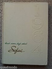 1964 BORAH HIGH SCHOOL YEAR BOOK BOISE, IDAHO   SAFARI