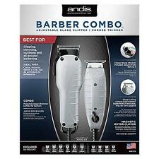 Andis Barber Combo Powerful Clipper/Trimmer Combo Kit 66325
