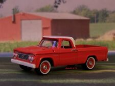 1961 - 65 DODGE D-100 FLEETSIDE LONGBED FARM PICKUP TRUCK COLLECTIBLE MODEL