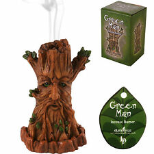 Tree Incense Cone Burner Home Fragrance Green Man Lisa Parker Wicca Pagan Gift
