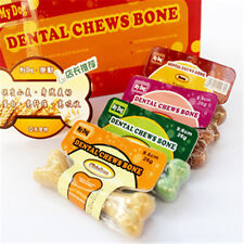 Pet Dog Puppy Food Different Taste Molar Bones Tooth Cleaning Treat Pet  LA