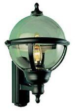 ASD GL / BS100 ORNATA Globe Muro Lanterna Nero / Fumo Effetto (fin845)