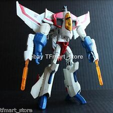 Custom Painted Transformers Animated Voyager Starscream in G1 Color Scheme