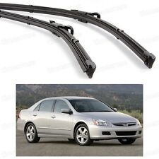 "26"" 18"" Car Front Windshield Wiper Blade Bracketless for Honda Accord 2003-2007"