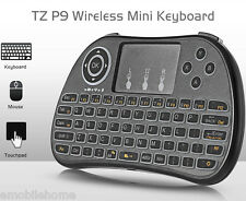 TZ P9 Handheld Wireless Mini Keyboard Air Mouse with Backlight Function Touchpad