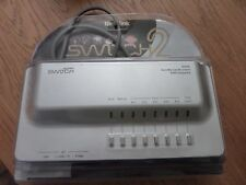 Tech Link Switch 2 AV-5OR AV control unit leads, remote unit + packing. Reduced.