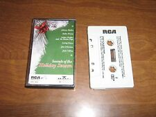SOUNDS OF THE HOLIDAY SEASON 1990 Cassette Tape-Mathis,Previn,Feliciano,Collins