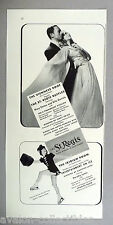 St. Regis Hotel PRINT AD - 1939 ~~ Mary Parker, Billy Daniels, Dorothy Lewis