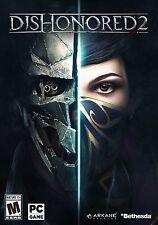 Dishonored 2 - Windows PC Game (2016) Retail Box