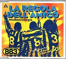 883-La Regola Dell'Amico Cd maxi 1997 Eccellenti condizioni