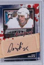 2011-12 ITG Enforcers Auto Gino Odjick A-GO Canucks