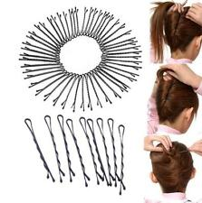 Hot 60PCS Metal Waved Bobby Salon Pins Grips Hairpins Barrette Hair Clips   HOCA