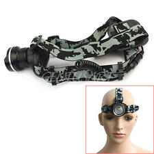 1200LM CREE XML T6 LED Headlamp 18650 Headlight Lamp Light 3 Mode Head Switch