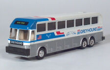 Road Champs HO 1:87 Greyhound Eagle Coach Model 15 Series Die Cast Metal Bus