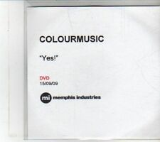 (DS205) Colourmusic, Yes! - 2009 DJ DVD