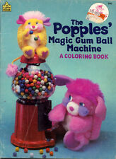 Popples coloring book RARE