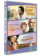 MUSICALS TRIPLE (SOUTH PACIFIC / OKLAHOMA / THE KING & I) - DVD FILM BOXSET