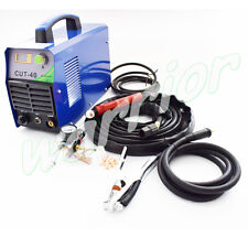 220V CUT40 Inverter Air Plasma Cutting Machine Cutter With PT-31 Torch Air Gauge