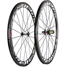 Novatec 271 Hub Carbon Wheelset 50mm Clincher Road Bicycle Glossy Carbon Wheels