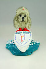 MOTOR BOAT POODLE GRAY INTERCHANGABLE BODY SEE BREED & BODIES @ EBAY STORE