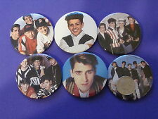 "Jordan & Jonathan Knight New Set Of 6 Large 2 1/4"" Buttons Pins NKOTB"