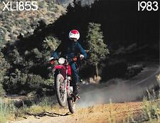 '83 Honda XL185 XL185S Sales Brochure