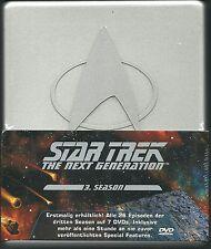 Star Trek Next Generation Season 3 (7 DVDs) NEU OVP Silberbox Deutsche Ausgabe