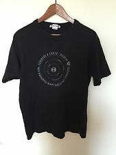 Final Home Japanese Indie Designer Black Graphic Print Basic Tee Shirt RARE M