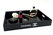 Chanel VIP Gift Extra Large Vanity Tray Make Up box Cosmetic  Organizer