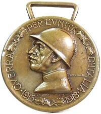Savoia-Regno d'ITALIA (Vittorio Em. III) Medaglia,1915-18