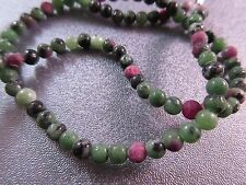 Ruby In Zoisite Round 4mm Beads 105pcs