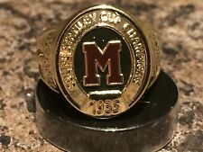 2016 Molson Canadian Stanley Cup Ring Montreal Maroons 1935 Size 10.5 Mint New
