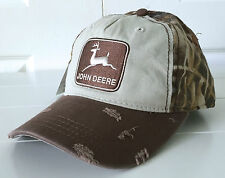 John Deere 1968 Stone Washed Realtree Max-4 Distressed Cap Hat Adjustable