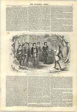 1847 Theatrical Costume Sadlers Wells As You Like It Phelps Engraving