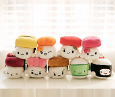"Sushi Japan 6"" Plush Pillow Cushion Doll Toy x9 Lot Gift Bedding Room Home Decor"