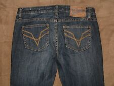 VIGOSS Studio Size 27 Manhattan Skinny Dark Blue Stretch Denim Womens Jeans