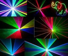 ANIMATION Full Colour Laser Light  disco DJ party red green blue 350RGB stage