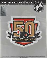 2016 2017 Philadelphia Flyers 50th Anniversary Jersey Patch 100% Official Emblem