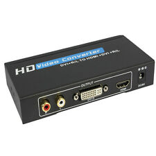 New DVI to HDMI+DVI converter+audio supports DVI&HDMI display simultaneously