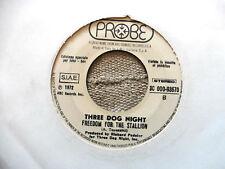 Three Dog Night – Black And White / Freedom For The Stallion - 45 giri JUKE BOX