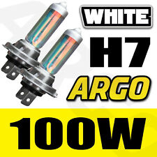 H7 100W XENON SUPER BRIGHT WHITE BULBS 8500K X 2 / PAIR
