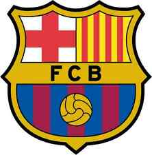 "Barcelona FC Spain Barca Soccer Football Car Bumper Sticker Decal 5"" x 5"""