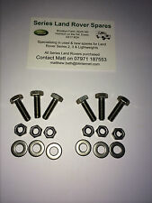 Land Rover Series 2, 2a & 3 Stainless Steel Bonnet Hinge Kit