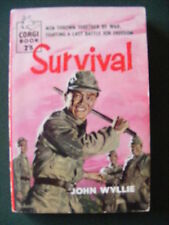 John Wyllie,SURVIVAL.Vintage PB..signed art cover