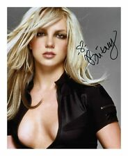 BRITNEY SPEARS SIGNED AUTOGRAPHED A4 PP PHOTO POSTER D