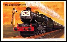 The Cheltenham Flyer #24 Embassy World Of Speed Cigarette Card (C278)