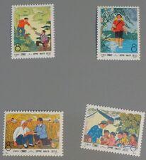 PR China 1974 N82-N85 Barefoot doctor MNH SC#1190-3