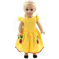 "Fits 18"" American Girl Madame Alexander Handmade Doll Clothes dress MG181"