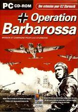 OPERATION BARBAROSSA JEU PC NEUF/CELLO POUR WINDOWS XP