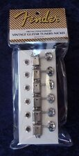 FENDER® VINTAGE GUITAR TUNER MACHINE HEAD TUNING PEGS NICKEL 099-2040-000 NEW